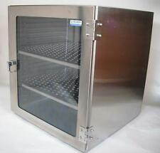 Stainless Steel Desiccator Cabinet 18wx18dx16h With Gas Port Amp 2 Shelves