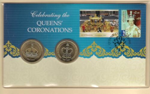 2013 QEII 60TH ANNIVERSARY QUEENS/' CORONATIONS PNC