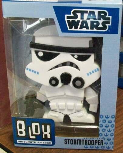 STAR WARS STORMTROOPER BLOX VINYL BOBBLE HEAD by FUNKO  NEW IN BOX #soct15-93