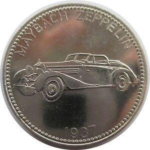 Medaille Shell Weltberühmte Sportwagen Maybach Zeppelin 1937 Ebay