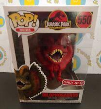 Funko Pop Jurassic Park 25th Anniversary Target Red Dilophosaurus