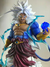 "Dragonball AF Dragonball Z 18"" Goku Super Saiyan LED Broly 5 Action Figure Resin"