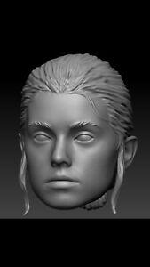 Star wars  Cornelius Evazan custom head sculpt hasbro black series