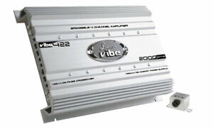 Lanzar-VIBE422-Vibe-2000w-4-Channel-Mosfet-Car-12v-Speakers-Amplifier