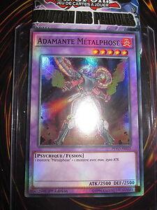 """Yu-Gi-Oh /""""Adamante Métalphose/"""" PEVO-FR055 x2 Super rare"""