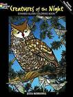 Creatures of the Night Stained Glass Coloring Book by Jessica Mazurkiewicz (Paperback, 2010)