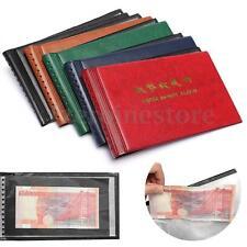 Mini Álbum Dinero Monedas Colección Bolsillo Para Billetes Con 20Hojas 20 x 11cm