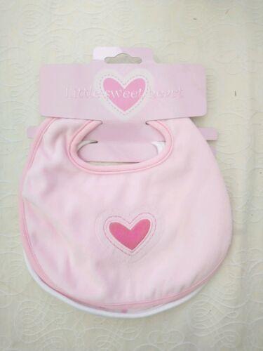 Soft BABY BIB ROSE Pack de 2