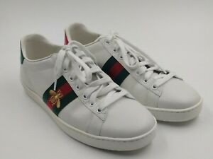 NEW $650 GUCCI Unisex Ace Embroidered