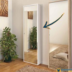 Scarpiera 1 anta a specchio bianca graf - Scarpiera specchio bianca ...