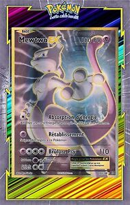 Mewtwo-EX-Full-Art-XY12-Evolutions-103-108-Carte-Pokemon-Neuve-Francaise