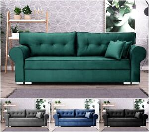 Soprano Chesterfield Sofa Bed Storage