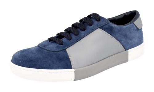 Prada Bleu Acciaio 5 5 Chaussures 44 43 Nouveaux 9 Luxueux 4e3060 qgaxFAxf