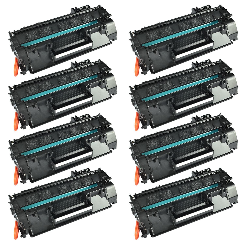 8pk Us Stock Ce505a 05a Black Toner Cartridge For Hp Lase...