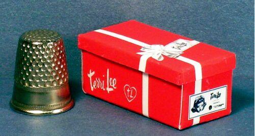 Dollhouse Miniature 1:12 Terri Lee Doll Box  Blond  retro Dollhouse girl