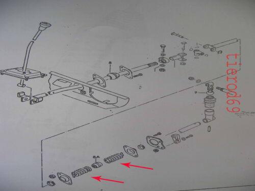 VW T25 Camper Transporter Lieferwagen Gangschaltung Stange Gummi Unten Stiefel
