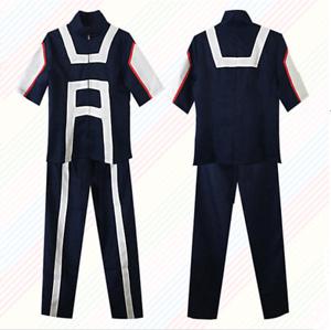 My Boku No Hero Academia Midoriya Izuku Gym Uniform Cosplay Costume Halloween