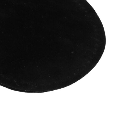 3 Paare Nähen Auf Oval Ellenbogen Knie Patches Jeans Repair Craft Schwarz