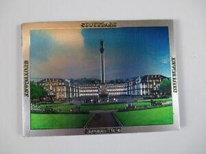 Stuttgart-Schlossplatz-Premium-Souvenir-Magnet-Germany-Deutschland-Laser-Optik
