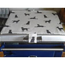 Mat Pad Cover Everhot 60 Range Chocolate Lab Labs Labrador Labradors Dog Dogs