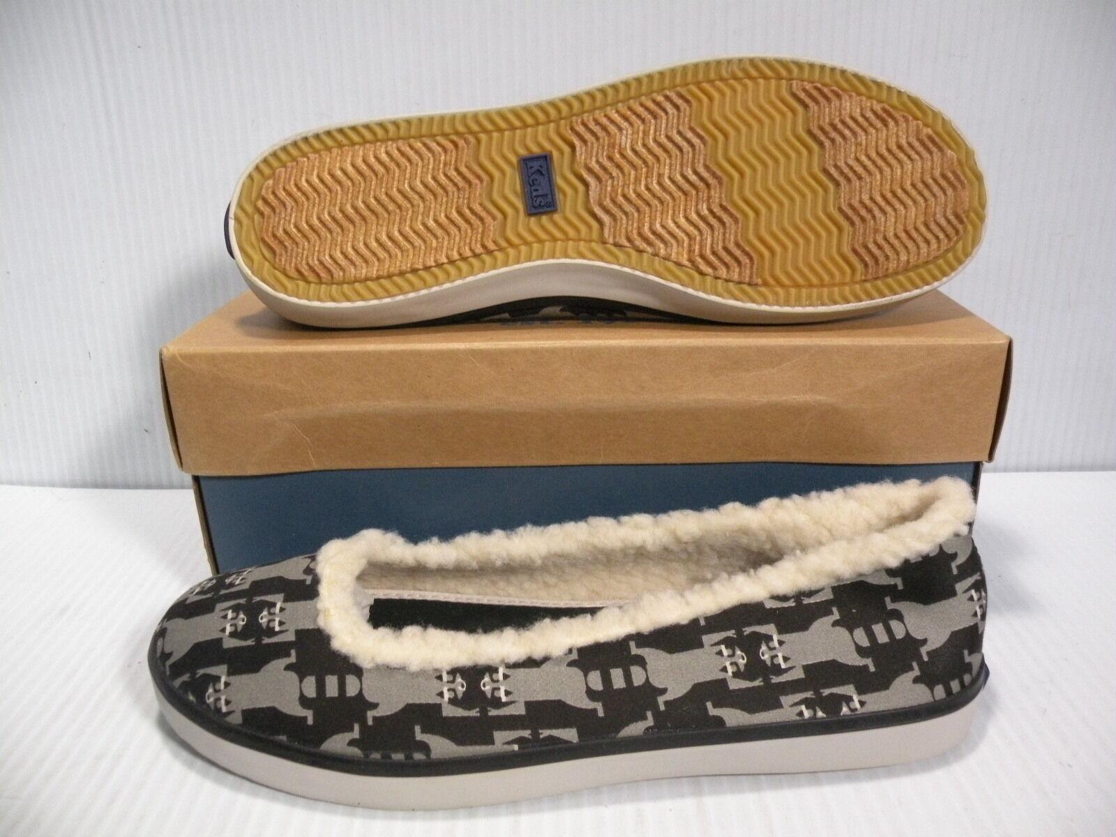KEDS ELEANOR LOW WOMEN Schuhe BLACK RACOON WF19841 SIZE 8 NEW