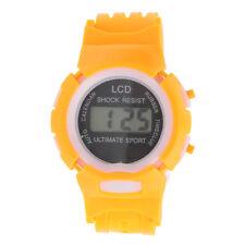 Boys Girls Sport Watch Student Time Electronic Digital LCD Wrist Watch Free Ship