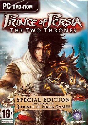 Prince of Persia (3 PC Games) Trilogy (Two Thrones,Sands of Time,Warrior  Within) 705381174219 | eBay