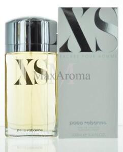 Xs Excess Pour Homme By Paco Rabanne Eau De Toilette 34 Oz For Men