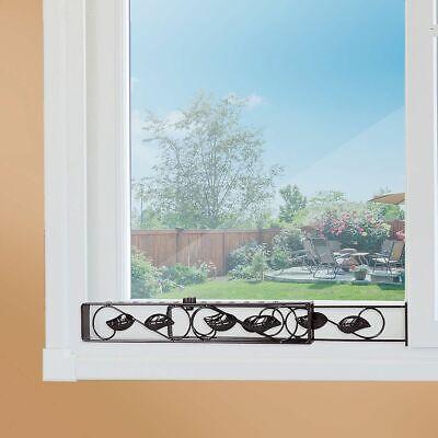 Sliding Window Metal Security Bar Adjustable Glass Patio ...