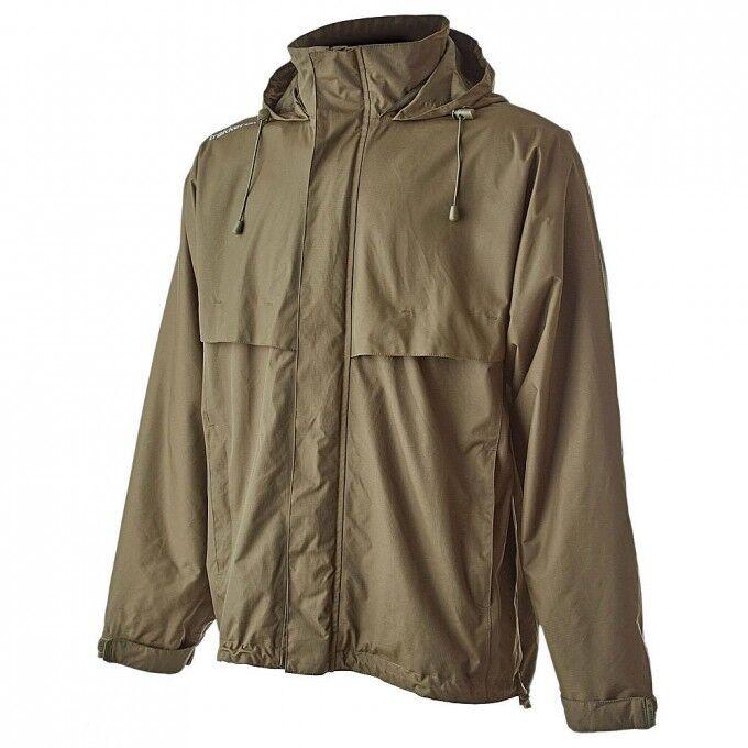Trakker Downpour+ Jacket Grün Waterproof Fishing Jacket NEW Version All Größes