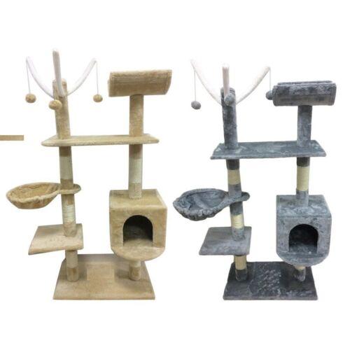 Rascador centro de actividades árbol del Gato que Rasguña el Poste Juguetes Cama Con Gato Nuevo en Paquete