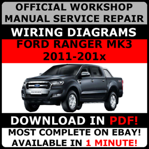 OFFICIAL-WORKSHOP-Repair-MANUAL-for-FORD-RANGER-MK3-2011-2017-WIRING