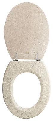 Möbel & Wohnen Diplomatisch Wc-sitz Granit Sanwood 44 X 36 Cm Steinoptik Toiletendeckel Klodeckel Klobrille äRger LöSchen Und Durst LöSchen Toilettensitze