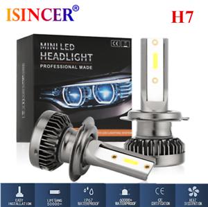 2PCS-Mini-CREE-H7-1500W-225000LM-Car-LED-Headlight-Kit-High-Low-Light-Bulb-6000K