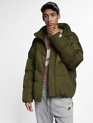 Nike Down Fill Jacket winter coat 928893-395 Size M L Olive