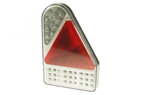 2 x Combo LED Rimorchio Caravan LAMPADA POSTERIORE LUCE Maypole 12V 24V MP8605BL MP8605BR