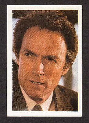 Clint Eastwood Vintage 1984 Spanish Movie Film Collector Card