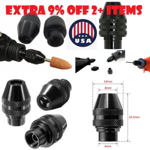 Multi Chuck Keyless Drill Bit 4486 Rotary Tool Quick Change Dremel accessories