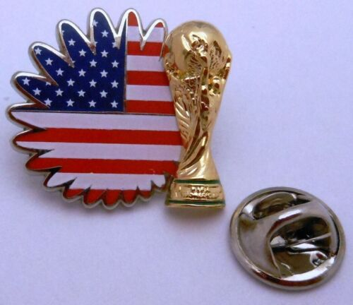 Team USA Pokal FIFA Fußball WM 2014 in Brasilien #115 Pin // Anstecker