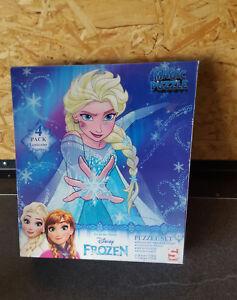 Disney`s Frozen Magic Puzzle-Set inhalt 4x24 Tlg Film- & TV-Spielzeug Magic Puzzle 3+
