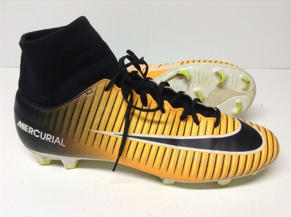 NIKE MERCURIAL VICTORY VI DF FG USED LASER ORANGE / BLACK Price reduction Comfortable and good-looking