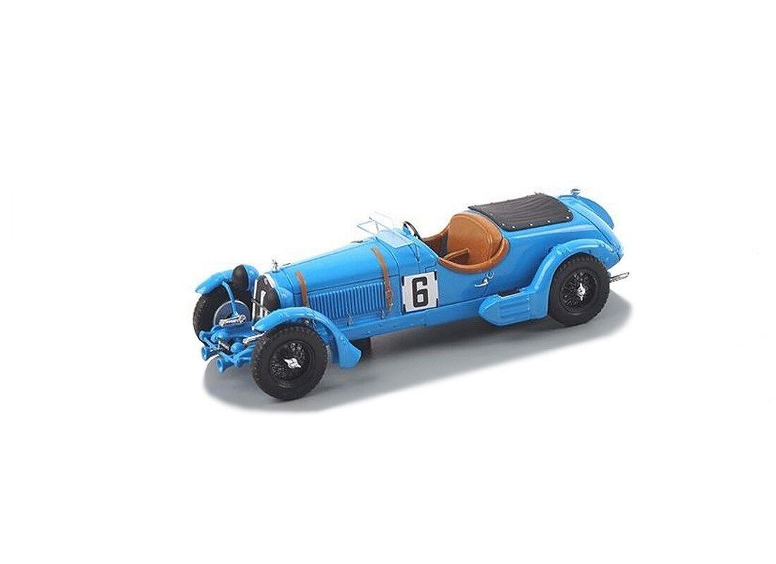 S3887 Spark 1 43  Alfa Romeo 8C, No.6, Le Mans 1934 E. Howe - T. pink Richards