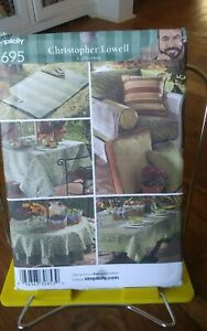 Oop-SImplicity-Christopher-Lowell-3695-outdoor-furniture-table-linen-cushion-NEW