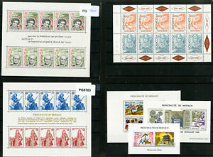 Monaco-Stamp-Lot-All-NH-Collection