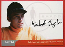 UFO - MICHAEL JAYSTON as Russell Stone - VERY LIMITED Autograph Card MJ1