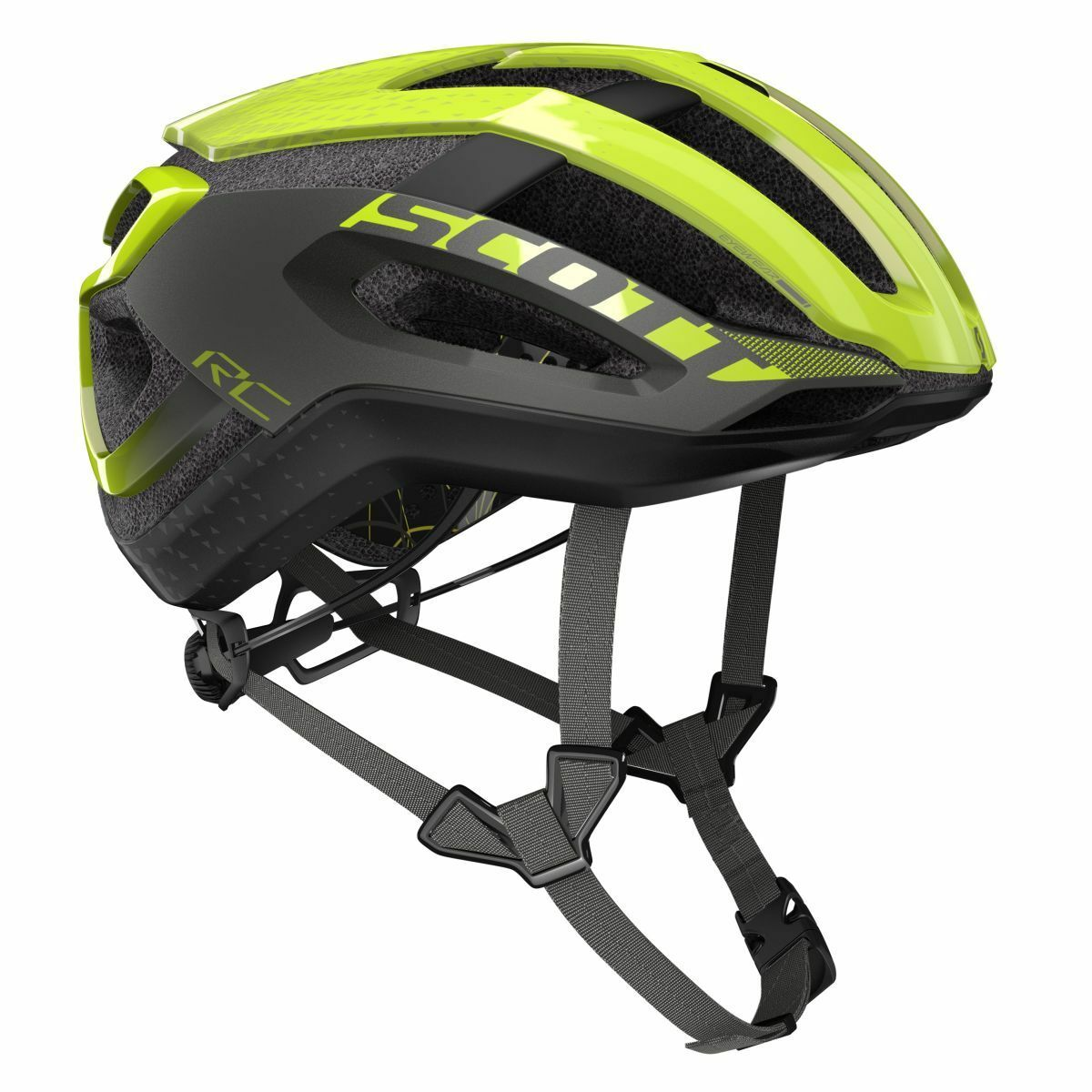 Scott Scott Scott Centric Plus Fahrrad Helm gelb grau 2019 6cfd76