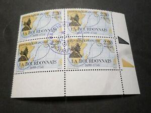FRANCE 1988, BLOC timbres 2520, LA BOURDONNAIS CELEBRITE', oblitéré 1° JOUR FDC