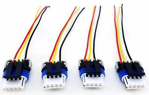 IGNITION COIL PACK WIRE LOOM PIGTAIL CONNECTORS HUMMER GM D585 D581 on ls standalone wire harness, 6.0 vortec wire harness, standalone lsx wire harness,