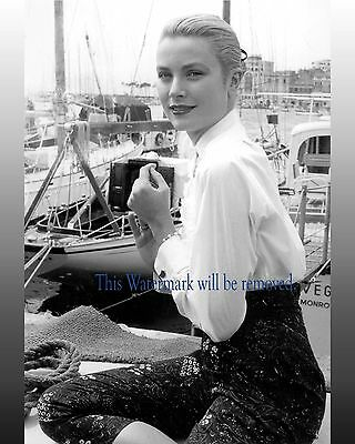 Grace Kelly, Celebrity 1950's Movie Star 8X10 GLOSSY PHOTO PICTURE IMAGE gk53