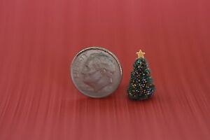1-144-Scale-Micro-Miniature-Dollhouse-CHRISTMAS-TREE-for-doll-039-s-house-teeny-tiny